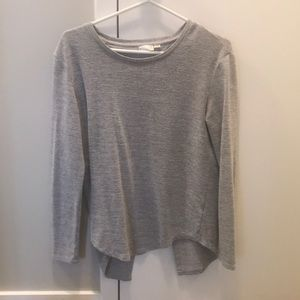 Marshall's Grey Open Back Top